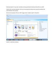 materi data base Microsoft access 2007.docx