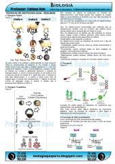 tecnicas de biotecnologia resumo.pdf