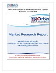 Global Insurance Market by Manufacturers, Countries, Type and Application, Forecast to 2022.pdf