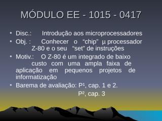 c. carlos z -80.ppt